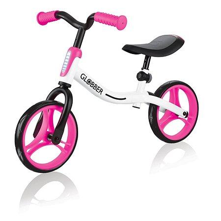 Беговел Globber Go Bike Бело-розовый 610-162