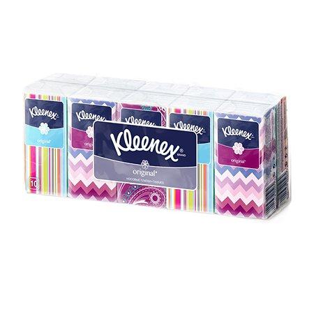 Носовые платочки Kleenex Original Белые