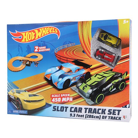 Набор с треком Hot Wheels 286см 83105
