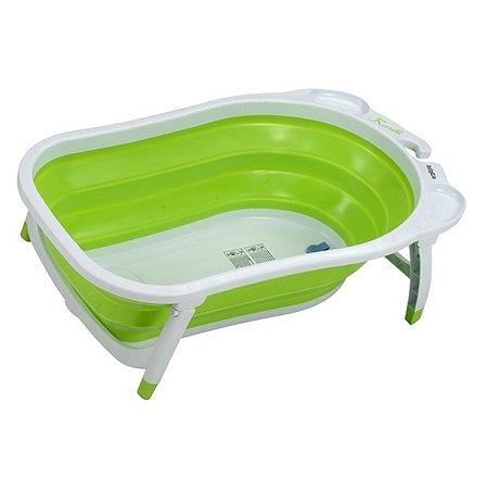 Ванна складная Babyton зеленая