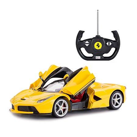 Машинка на радиоуправлении Rastar Ferrari USB 1:14 Желтая