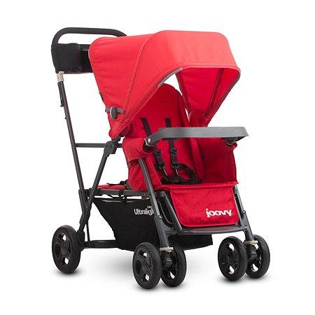 Прогулочная коляска JOOVY Caboose Graphite Ultralight Красная