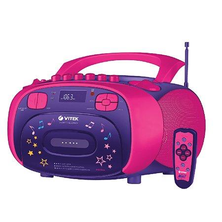 Магнитола VITEK c СD-MP3 WX-4001 MS. Winx