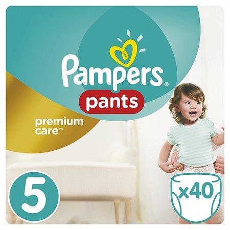 Подгузники-трусики Pampers Premium Care 12-18кг 40шт