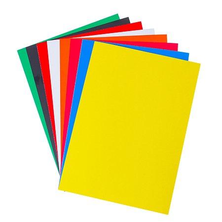 Цветной картон Silwerhof 8цв./8л. А4