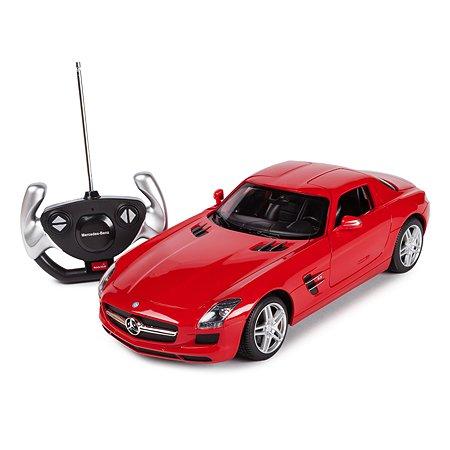 Машинка радиоуправляемая Rastar Mercedes-Benz SLS AMG 1:14 красная