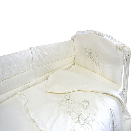 Комплект в кроватку L'Abeille Aria 6 предметов