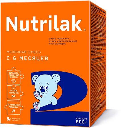 Смесь молочная Nutrilak 2 600г с 6месяцев