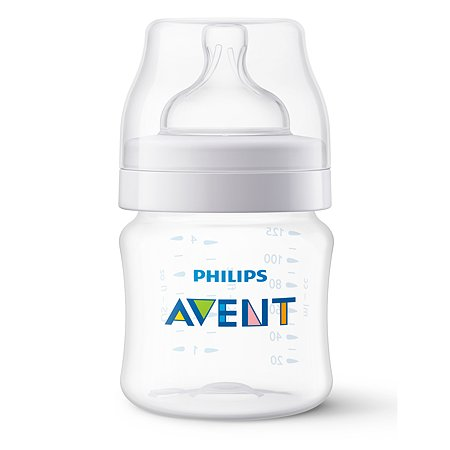 Бутылочка Philips Avent Anti-colic 125мл с 0месяцев SCF810/17