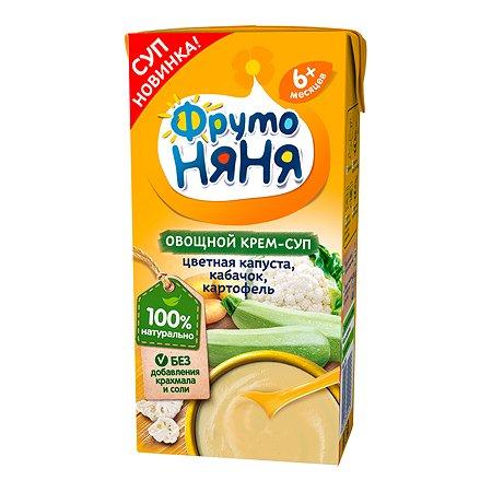 Крем-пюре ФрутоНяня цветная капуста-кабачки-картофель 200г с 6месяцев