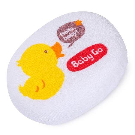 Губка для купания Baby Go махровая BD31108