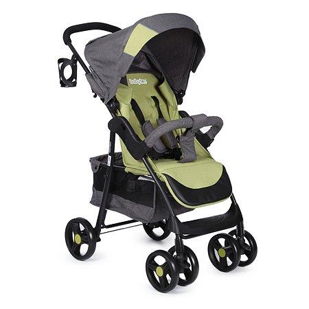 Коляска прогулочная Babyton Comfort Green-Grey E01