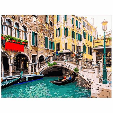 Холст для рисования по номерам Рыжий кот Венецианский день Х-6467