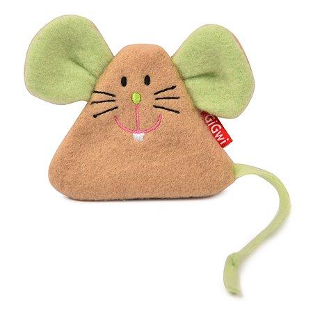 Игрушка для кошек GiGwi Мышка с кошачьей мятой 50116