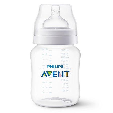 Бутылочка Philips Avent Anti-colic 260мл с 1месяца SCF813/17