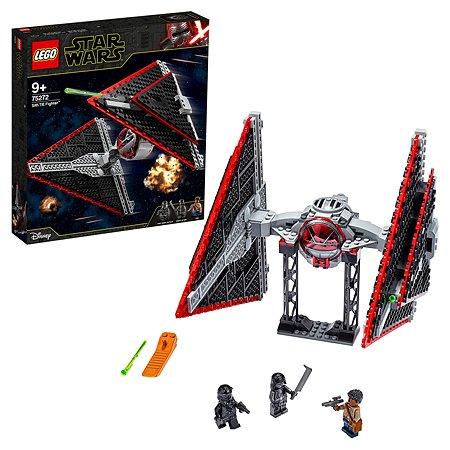 Конструктор LEGO Star Wars Истребитель Сид ситхов 75272
