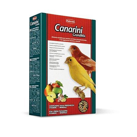 Корм для птиц PADOVAN Grandmix канареек комплексный основной 0.4кг