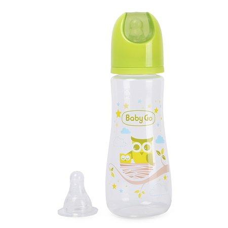 Бутылочка Baby Go 270мл Green Z-001