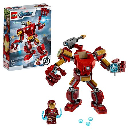 Конструктор LEGO Super Heroes Железный человек 76140