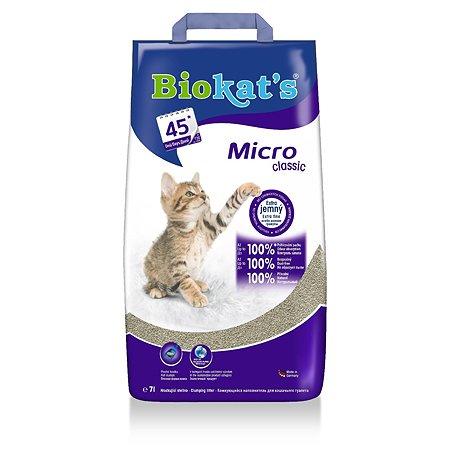 Наполнитель для кошек Biokats Микро 7л