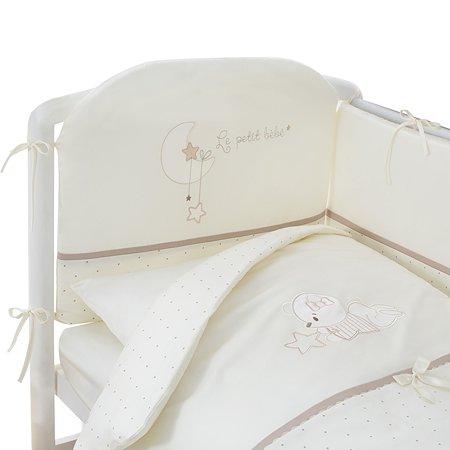 Комплект постельного белья Perina Le petit bebe 4 предмета Кофейный