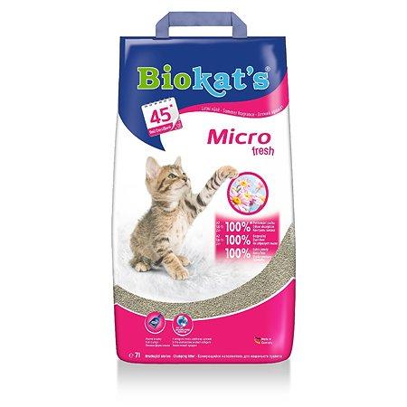 Наполнитель для кошек Biokats Микро свежий 7л