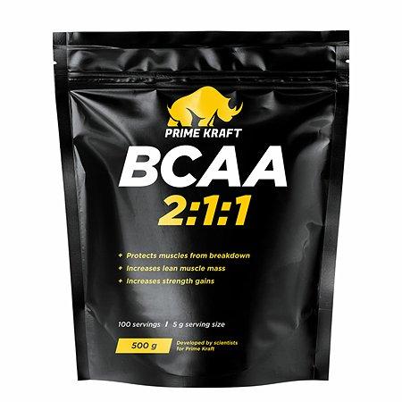 Комплекс Аминокислотный Prime Kraft BCAA 2:1:1 (БЦАА) 500г