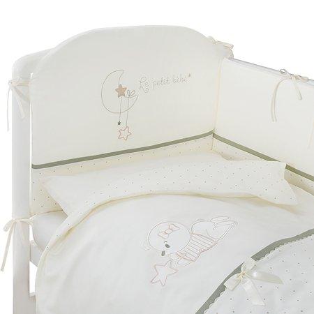 Комплект постельного белья Perina Le petit bebe 4 предмета Оливковый