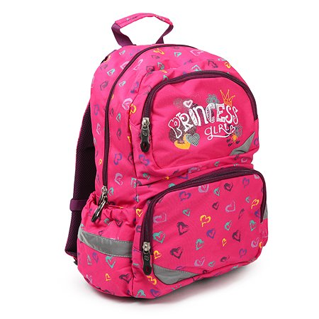 Ранец Pulse Pink princess 121344