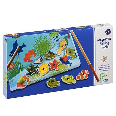Игра Djeco Тропическая рыбалка магнитная 01652