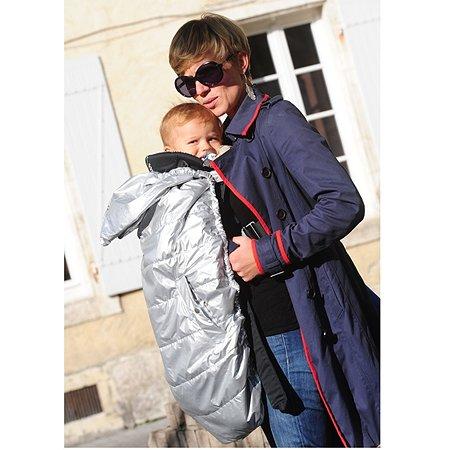 Накидка от дождя CarrybOo на рюкзак-переноску цвет серебряный
