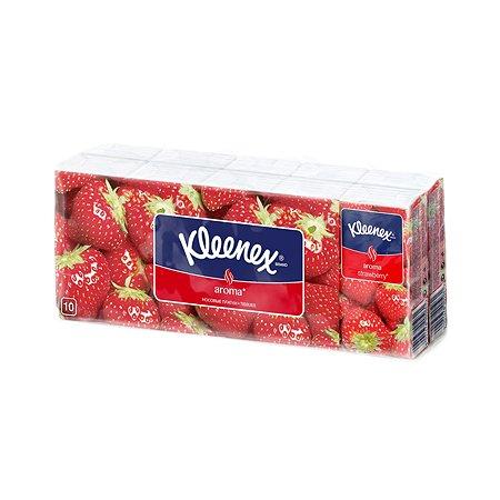 Носовые платочки Kleenex Клубника