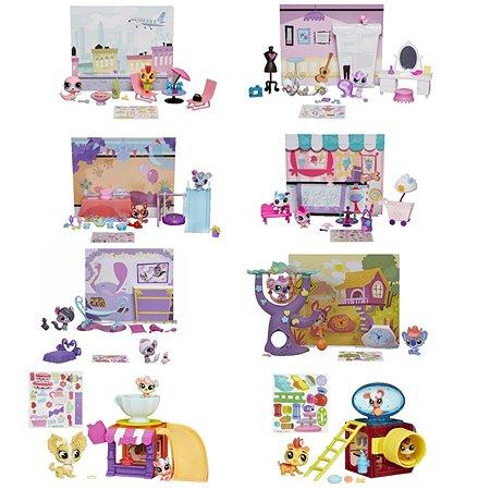 Тематический набор Littlest Pet Shop с аксессуарами в ассортименте