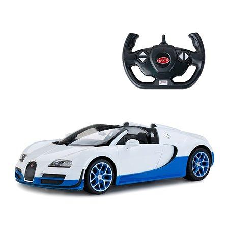 Машинка на радиоуправлении Rastar Bugatti Vitesse USB 1:14 Белая
