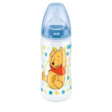 Бутылочка Nuk Disney First Choice Plus 300мл Синяя
