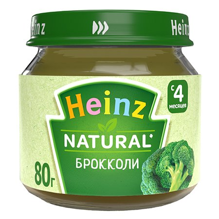 Пюре Heinz брокколи 80г с 4месяцев