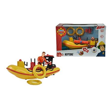 Игрушка Fireman Sam Лодка спасателей с аксессуарами+фигурка Пожарный Сэм 9251660