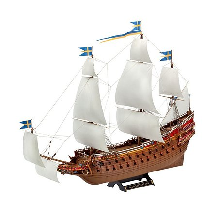 Корабль Revell парусный ваза xvii век шведский