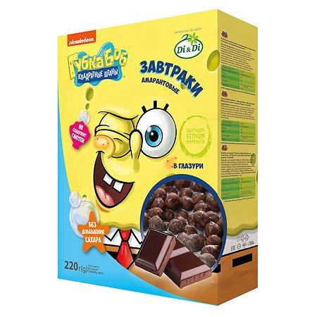 Завтраки Sponge Bob амарантовые витаминизированные 220г