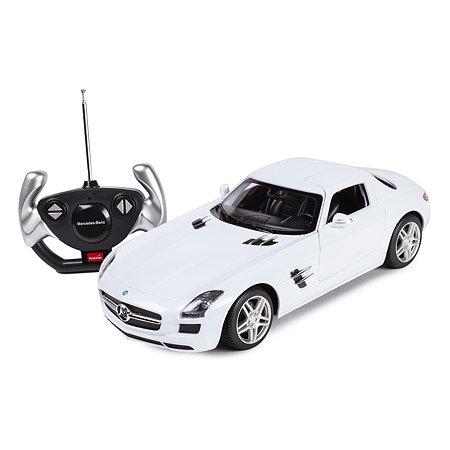 Машинка радиоуправляемая Rastar Mercedes-Benz SLS AMG 1:14 белая