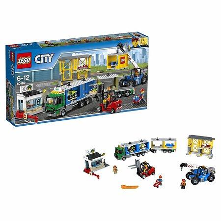 Конструктор LEGO City Town Грузовой терминал (60169)