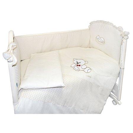 Комплект в кроватку L'Abeille Little Bear 6 предметов