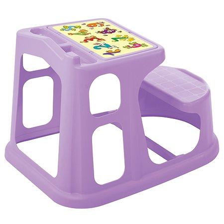 Стол-парта Пластишка с аппликацией