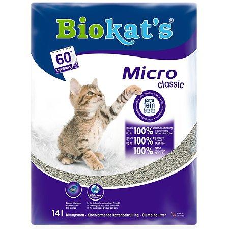 Наполнитель для кошек Biokats Микро 14л