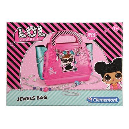 Набор для творчества Clementoni L.O.L. Surprise! Создай дизайн сумочки 18546RU