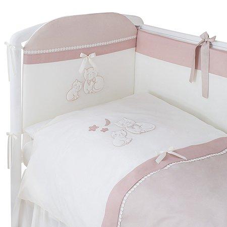 Комплект постельного белья Perina Котята 4 предмета Карамель