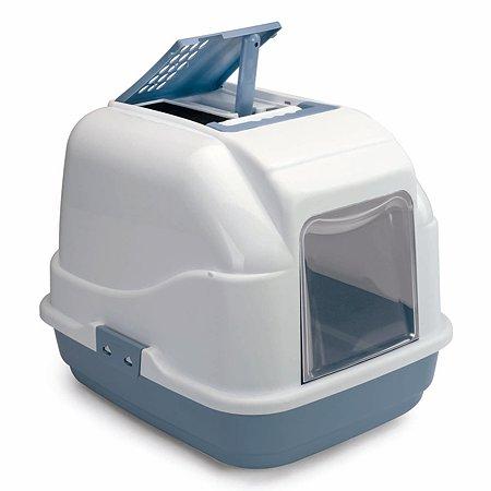 Туалет для кошек IMAC Easy Cat закрытый Голубой