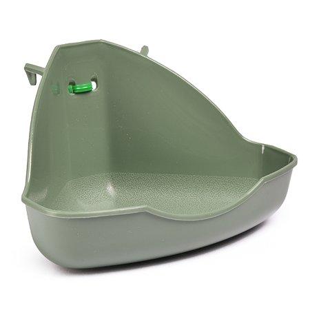 Туалет для грызунов FAUNA Miniloo угловой FITP-8013