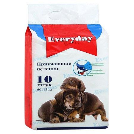 Пеленки для животных Everyday гелевые 60*45см 10шт