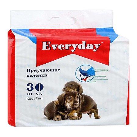 Пеленки для животных Everyday гелевые 60*45см 30шт